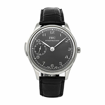 £34052.05 • Buy IWC Portuguese Minute Repeater LE Manual White Gold Mens Strap Watch IW5242-05