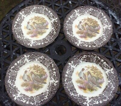 £7.80 • Buy Palissy Game Series By Royal Worcester Dinner Plates X 4 - Partridge
