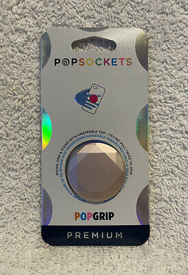 AU13.02 • Buy POPSOCKETS ~ Diamond Rose Gold Popgrip Premium Swappable Pop Sockets Authentic