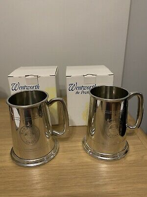 £25.01 • Buy Two Pewter Mansfield Brewery Tankards