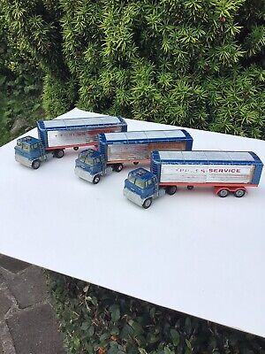 £21 • Buy 3 Vintage Major Ford Truck And Articulated Trailer. Express Service