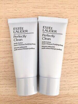 £8.95 • Buy Estee Lauder Perfectly Clean Multi Action Foam Cleanser/Purifying Mask 2×30ml