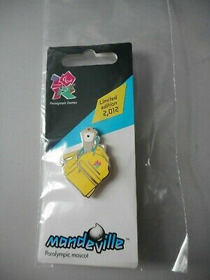 £9.99 • Buy London 2012 Olympics Collectable - Pin Badge - Mandeville Rucksack Ltd Edition