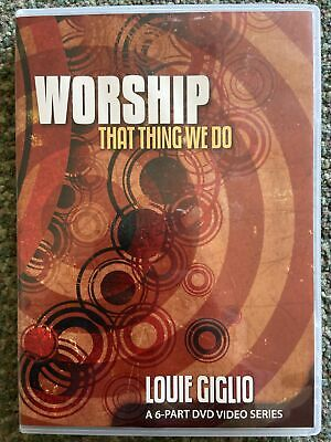 £5.99 • Buy Worship: That Thing We Do DVD - Louie Giglio DVD
