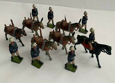 £36 • Buy Britains Mountain Gun Team Of The Royal Artillery.Lead Toy Soldiers Set No.28