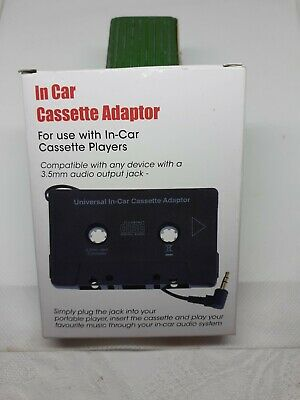 £1.50 • Buy Car Audio Cassette Adaptor For  MP3, CD Or Laptop   With 3.5mm Stero Jack. RETRO