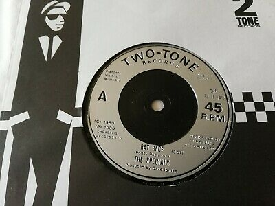 £3.20 • Buy The Specials Uk Two-tone 45 Race 1980  N/mint
