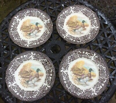 £8 • Buy Palissy Game Series By The Royal Worcester Group - Salad Plate X 4 - Mallard