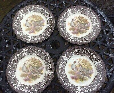 £8 • Buy Palissy Game Series By The Royal Worcester Group - Salad Plate X 4 - Partridge