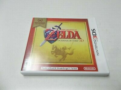 AU26.92 • Buy The Legend Of Zelda Ocarina Of Time 3D (3DS, 2011) - Nintendo Selects - Complete