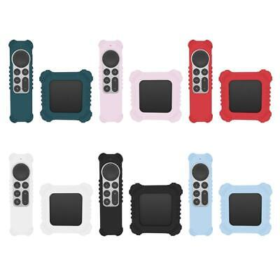 AU11.83 • Buy Silicone Cover Antislip Shockproof Protective Sleeve For Apple-TV 4K Remote Case