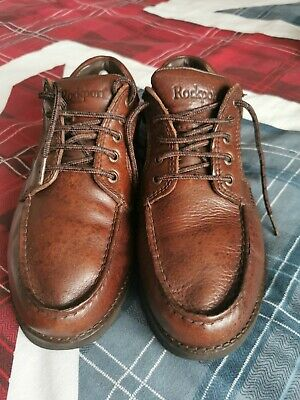 £40 • Buy Rockport Brown Leather Shoes UK 10