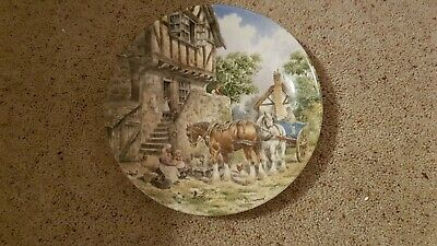 £10 • Buy Wedgewood Plate - Life On The Farm