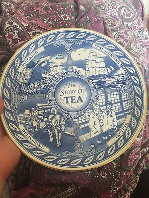 £0.99 • Buy Vintage Plate The Story Of Tea Ringtons
