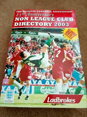 £1.50 • Buy The Non League Club Directory 2003 (Paperback)