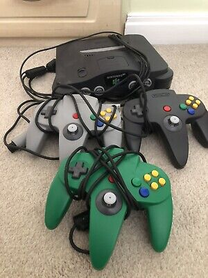 AU84.61 • Buy Nintendo 64 Console With 3 Controls