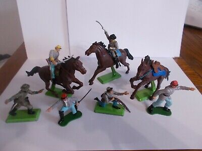 £15 • Buy Britains 1971 Confederate  Soldiers And Horses.
