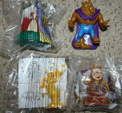 £15 • Buy McDonalds Disney Beauty And The Beast Happy Meal Toys