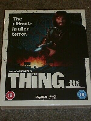 £49.95 • Buy John Carpenters The Thing 4K Ultra HD Limited Edition Blu Ray - New / Sealed