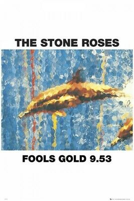£19.99 • Buy The Stone Roses - Fools Gold 9.53 (Large Poster 61cm X 91.5cm) New