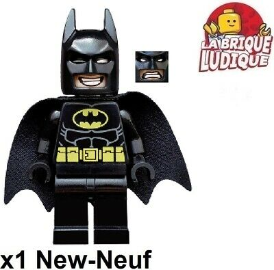 £7.04 • Buy LEGO Figurine Minifig The LEGO Movie Batman Grin And Angry Face Cape Tlm090 New