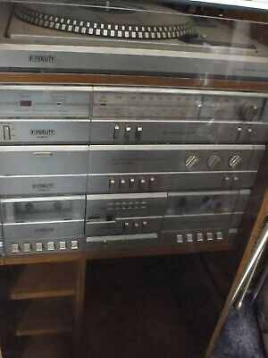 £35 • Buy Fidelity Record Player/Double Tape Deck/Radio IS600 1980s