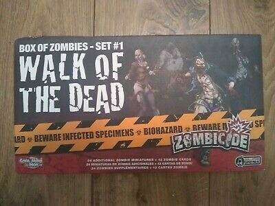 £16 • Buy ZOMBICIDE: Walk Of The Dead: Box Of Zombies Set #1 24 Zombies (5 Damaged) CMON