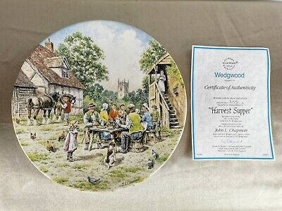 £8.99 • Buy BRAD-EX Wedgwood Centrepiece Decorative Plate  Harvest Supper - Life On The Farm