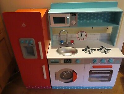 £40 • Buy Early Learning Centre ELC Toy Kitchen Role Play Set +Accessories COLLECTION NE39