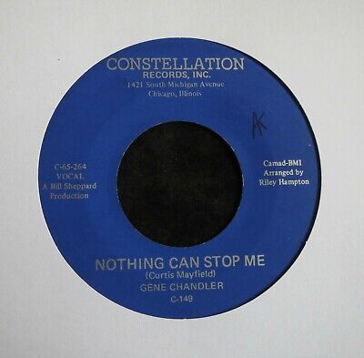 £14.99 • Buy GENE CHANDLER - Nothing Can Stop Me - Northern Soul Club Classic - Listen !