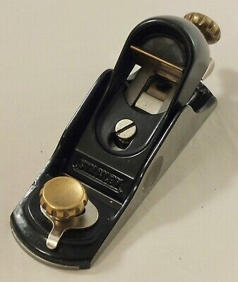 £22 • Buy Stanley 9 1/2 A Block Plane With Adjustable Mouth, Limited Amateur Use