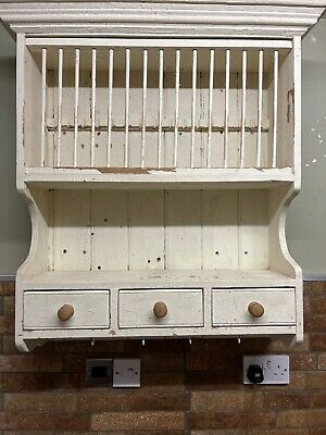 £60 • Buy Wall Mounted Wooden Plate Rack