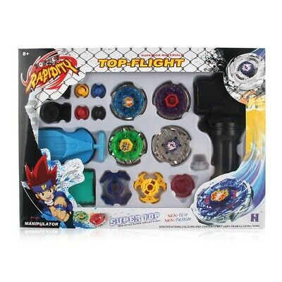 £10.53 • Buy  4D Beyblade Set Top Metal Rapidity Masters Fusion Launcher Grip Kids Gift Toys