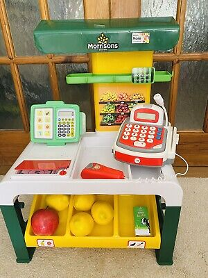 £7 • Buy Toddlers Pretend Toy Supermarket Grocery Play Store Market Shop Set & Money Till