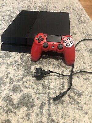 AU182.50 • Buy Sony PS4 Playstation 4 1TB Black Console (With Red Controller)