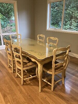 AU500 • Buy [USED] French Provincial Dining Table And Chairs