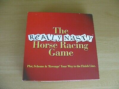 £13.99 • Buy The Really Nasty Horse Racing Game 2002 Board Game 100% COMPLETE Perfect Cond
