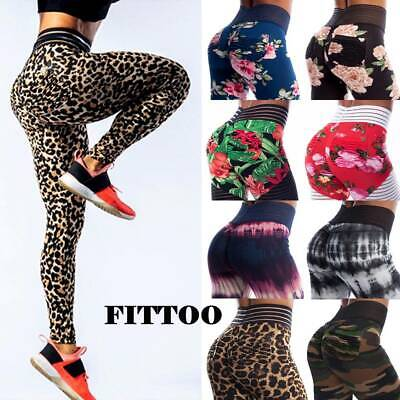 £4.99 • Buy HOT Womens Scrunch Anti-Cellulite Butt Lift Leggings Booty Gym Ruched Yoga Pants