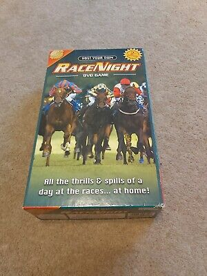 £4.50 • Buy Host Your Own Race Night DVD Party Horse Racing Betting Gambling Game