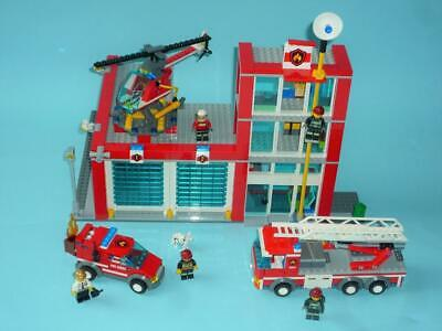 £39.99 • Buy Lego City 60004  Fire Station With  Instructions