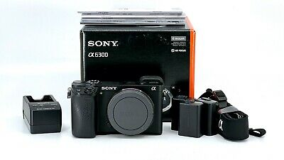AU665.73 • Buy Sony Alpha A6300 24.2 MP Mirrorless APS-C Camera - (Body Only) - Great Condition