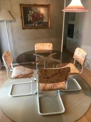 AU150 • Buy Glass Dining Table And Chairs