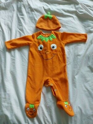 £2.50 • Buy Baby 6-9 Months Halloween Pumpkin Costume, Used Once For Baby Dress Up.