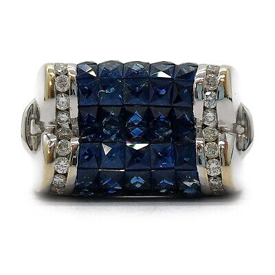 AU151.12 • Buy Jewelry Ring   Sapphire 5.76ct White Gold 1814495