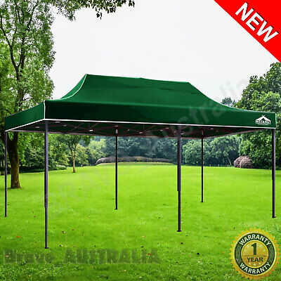 AU228.50 • Buy Outdoor Gazebo 3m X 6m Folding Pop Up Tent Marquee Canopy Party Market Camping