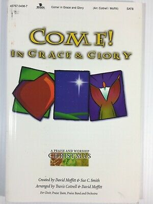 £8.28 • Buy Come In Grace And Glory Christmas Praise And Worship Vintage Sheet Music 2001