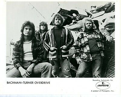 £7.25 • Buy BACHMAN-TURNER OVERDRIVE - ORIGINAL 1970s MUSIC PUBLICITY PHOTOGRAPH 8  X 10