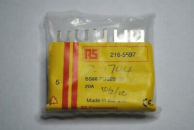 £20 • Buy  20A FUSE BS88 415V Industrial HRC A1 Fuse,20A, NIT20