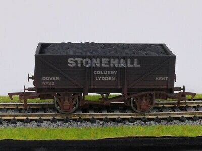 £12.45 • Buy OO Dapol Stonehall Colliery (Lydden) 5 Plank Coal Wagon Weathered Ltd Edn Boxed