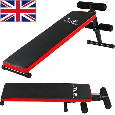 £39.99 • Buy Sit Up Ab Abdominal Board Bench Stomach Abs Core Trainer Home Gym Exercise Situp